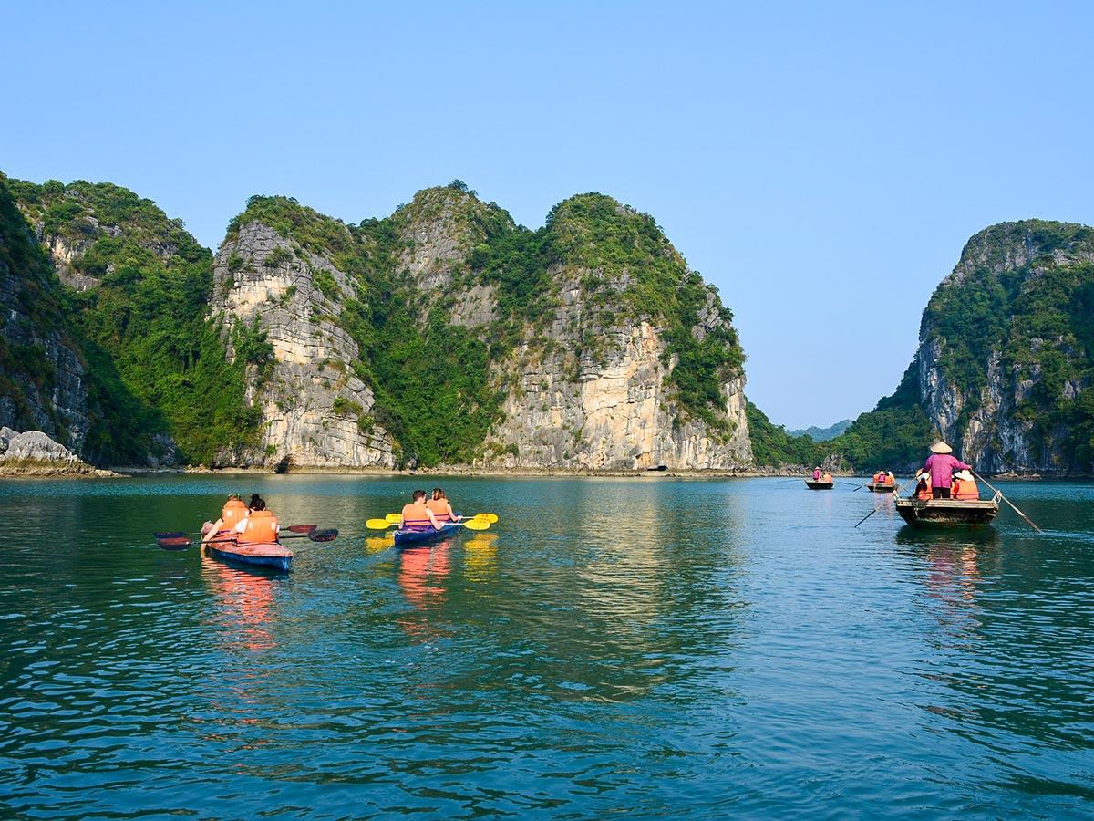 Vietnam Tropical Journey Tour includes visiting the famous Halong Bay