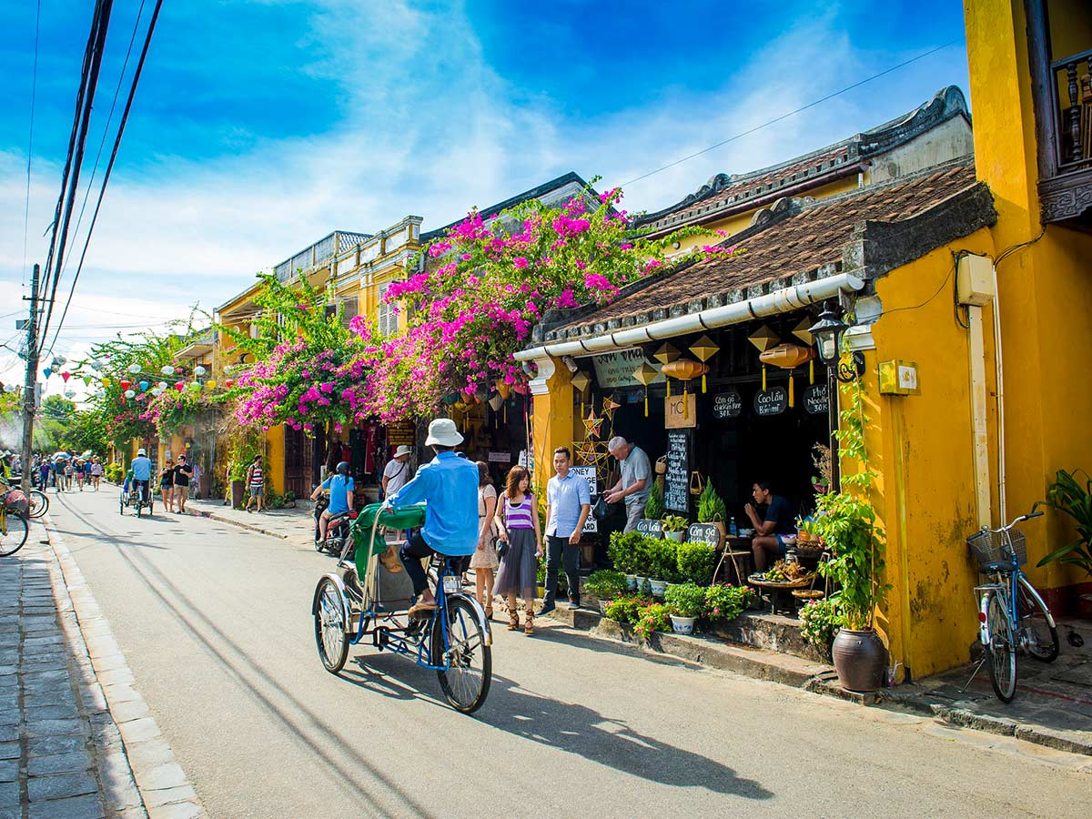 Vietnam Tropical Journey Tour includes wandering in the beautiful Hoi An streets