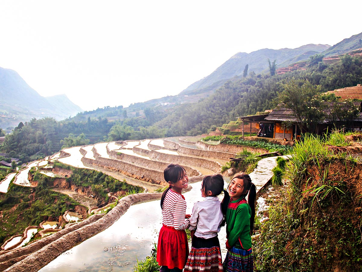 Soft Eco Adventure in Vietnam includes visiting hilltribe villages