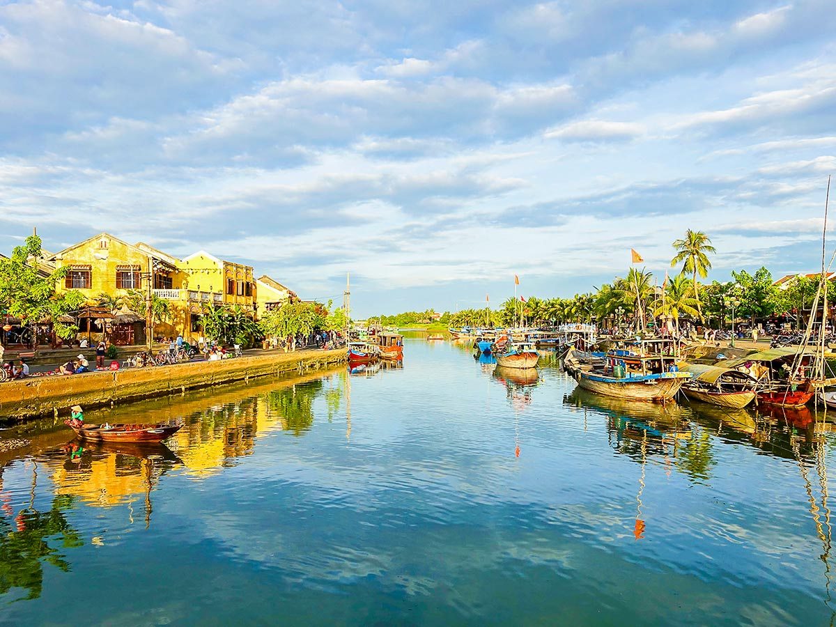 Hoi An Ancient Town seen on Soft Eco Adventure Tour in Vietnam