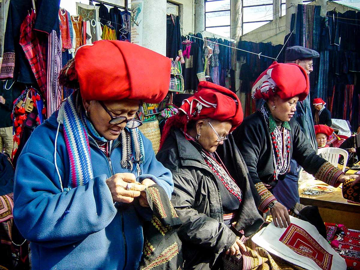 Sapa people seen on Best of Vietnam Trekking and Cruising Tour in Vietnam