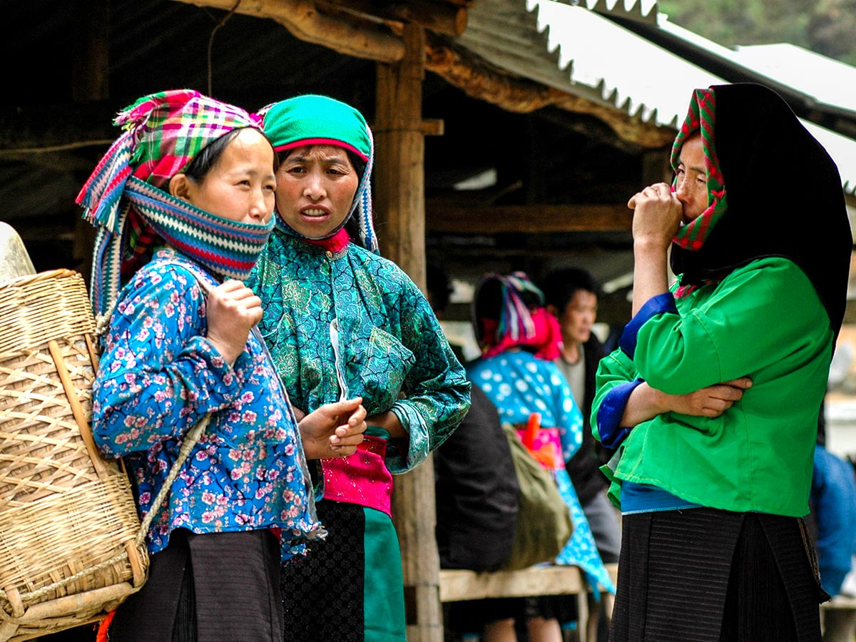 Local village people met on Best of Vietnam Tour in Vietnam