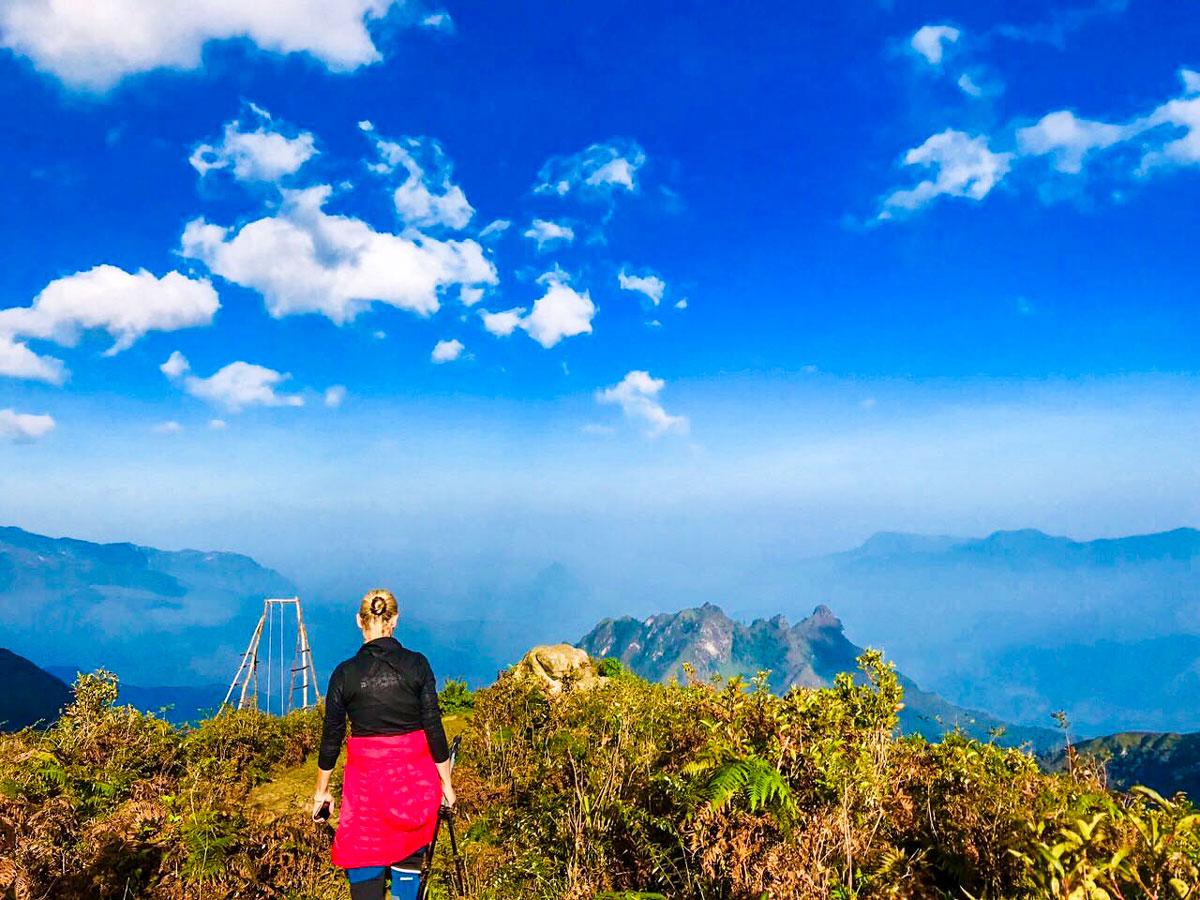 Expansive views seen on Best of Vietnam Trekking Tour
