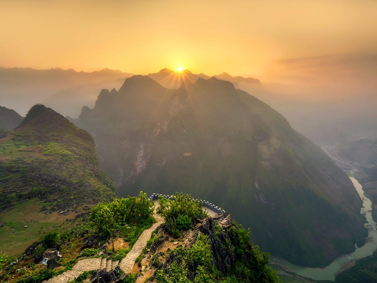 Ha Giang views in Northern Vietnam