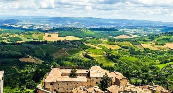 Via Francigena Lucca to Siena