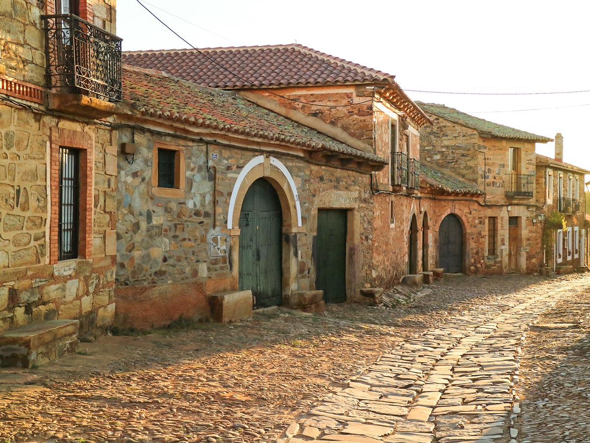 Camino de Santiago French Way full trek leads through several beautiful villages