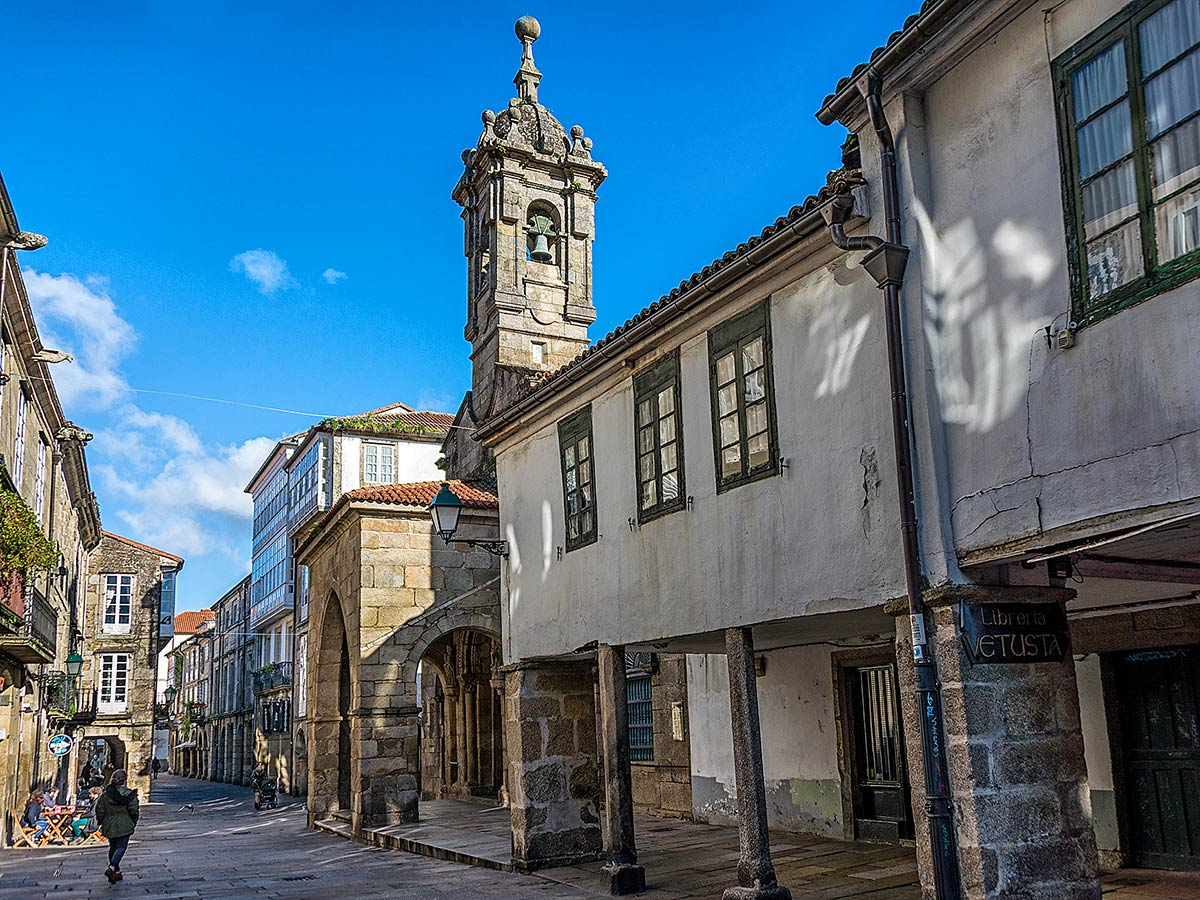 Santiago de Compostella Galicia Northern Spain