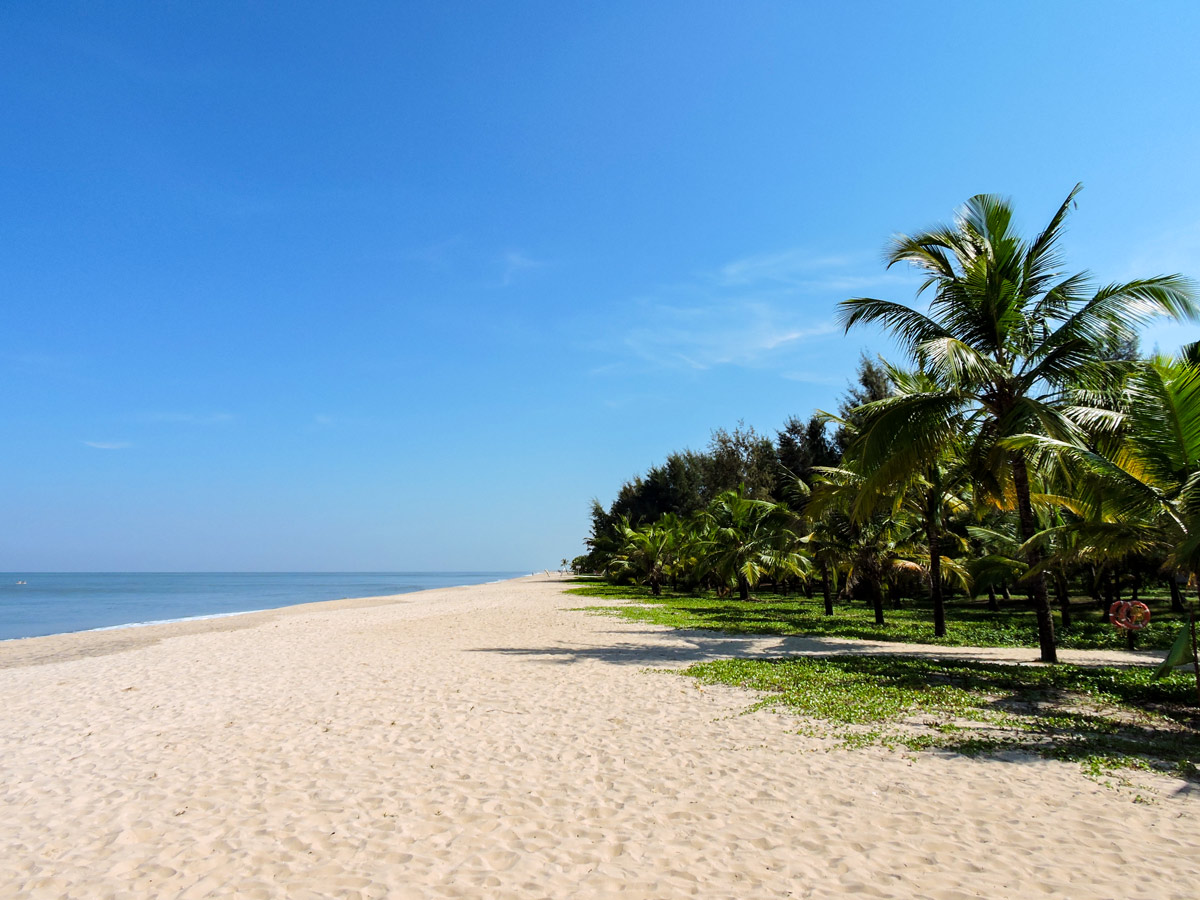 Marari Beach in Kerara is a must see when traveling in southern India