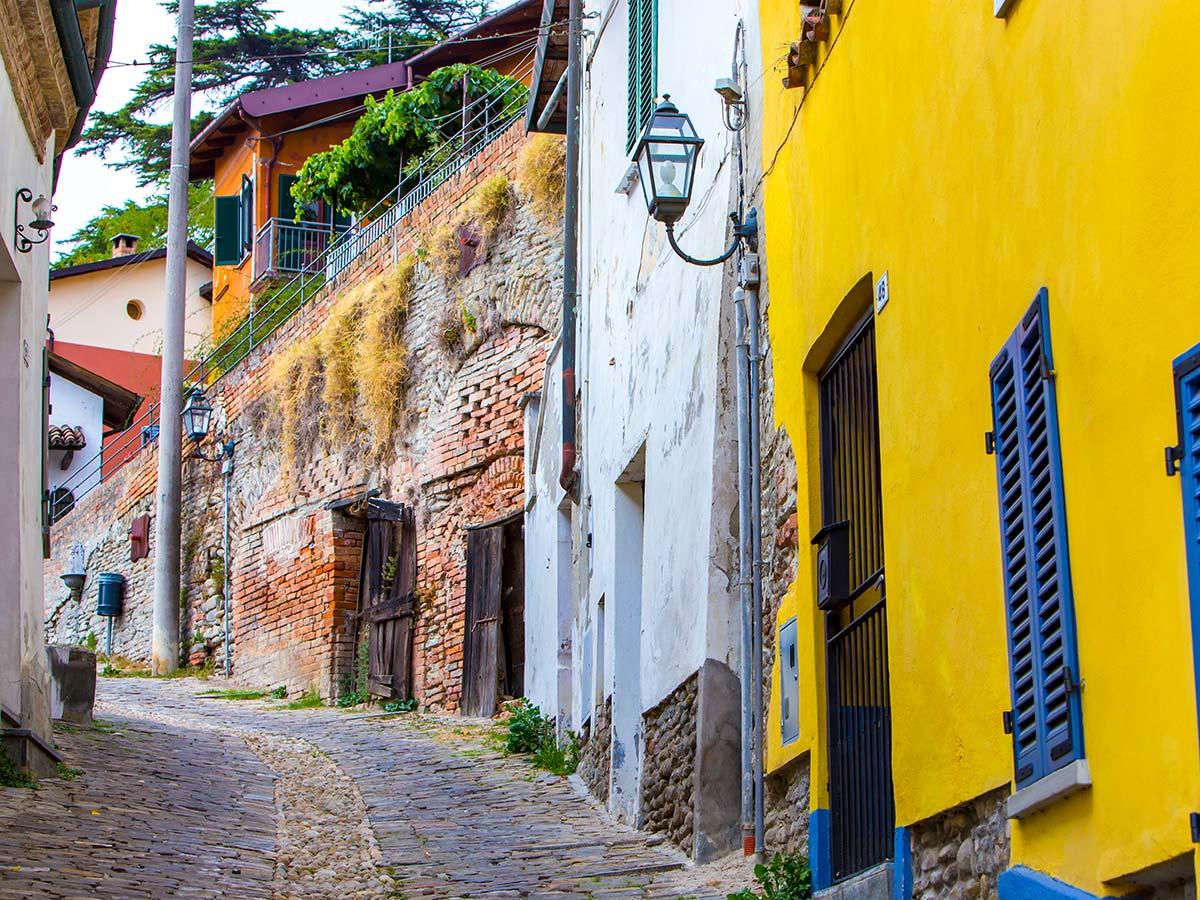 Biking in Piedmonte Tour includes visiting beautiful authentic locations allaround Alba