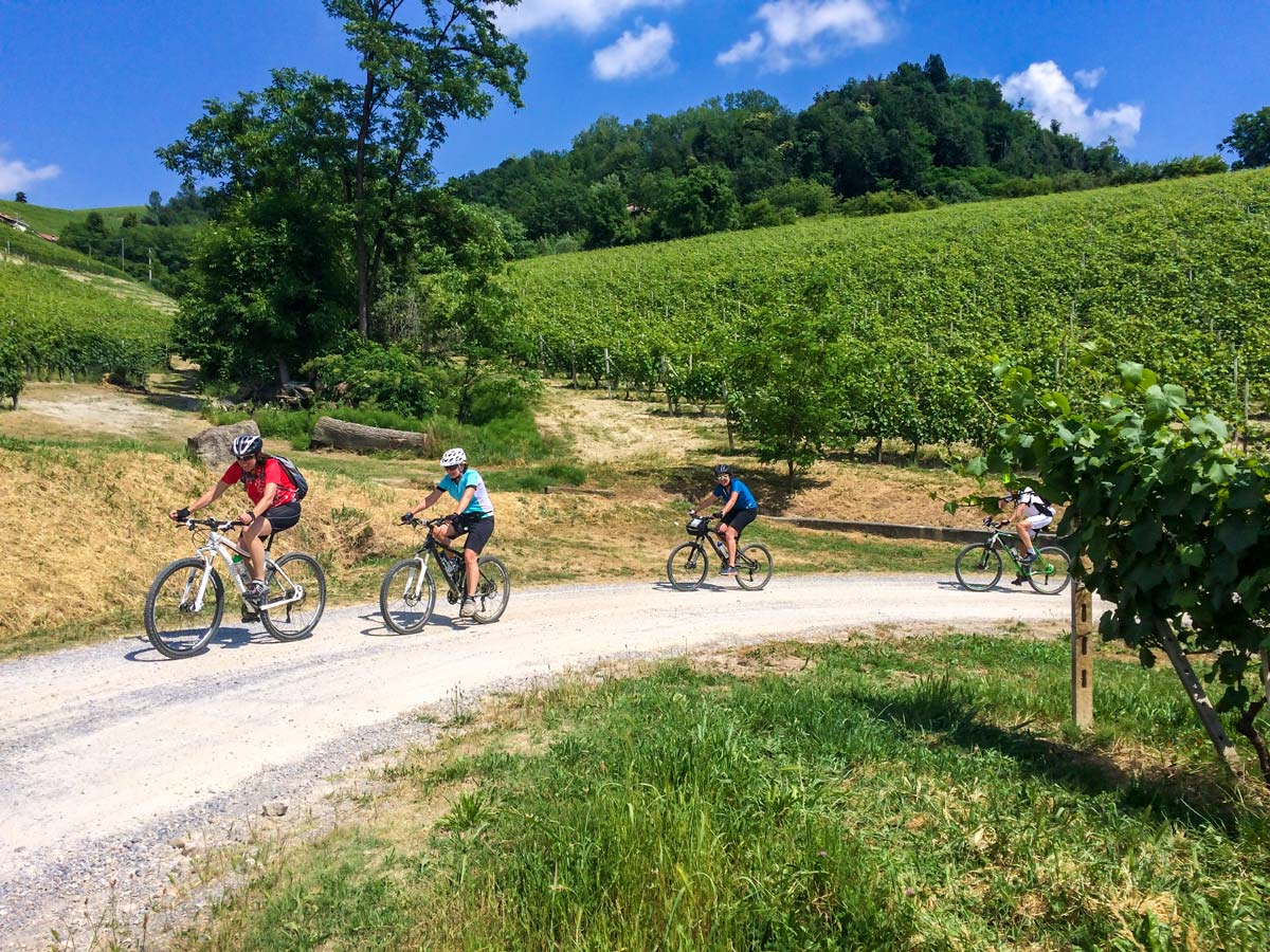 One of the best ways to spend a week in Italay is self guided Biking in Alba Piedmonte Tour