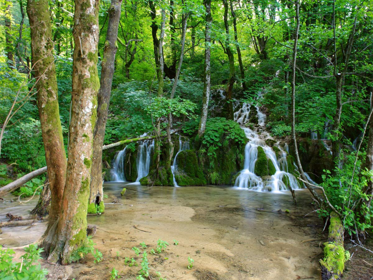Waterfalls in Plitvice National Park Croatia Journey Through Colors Tour