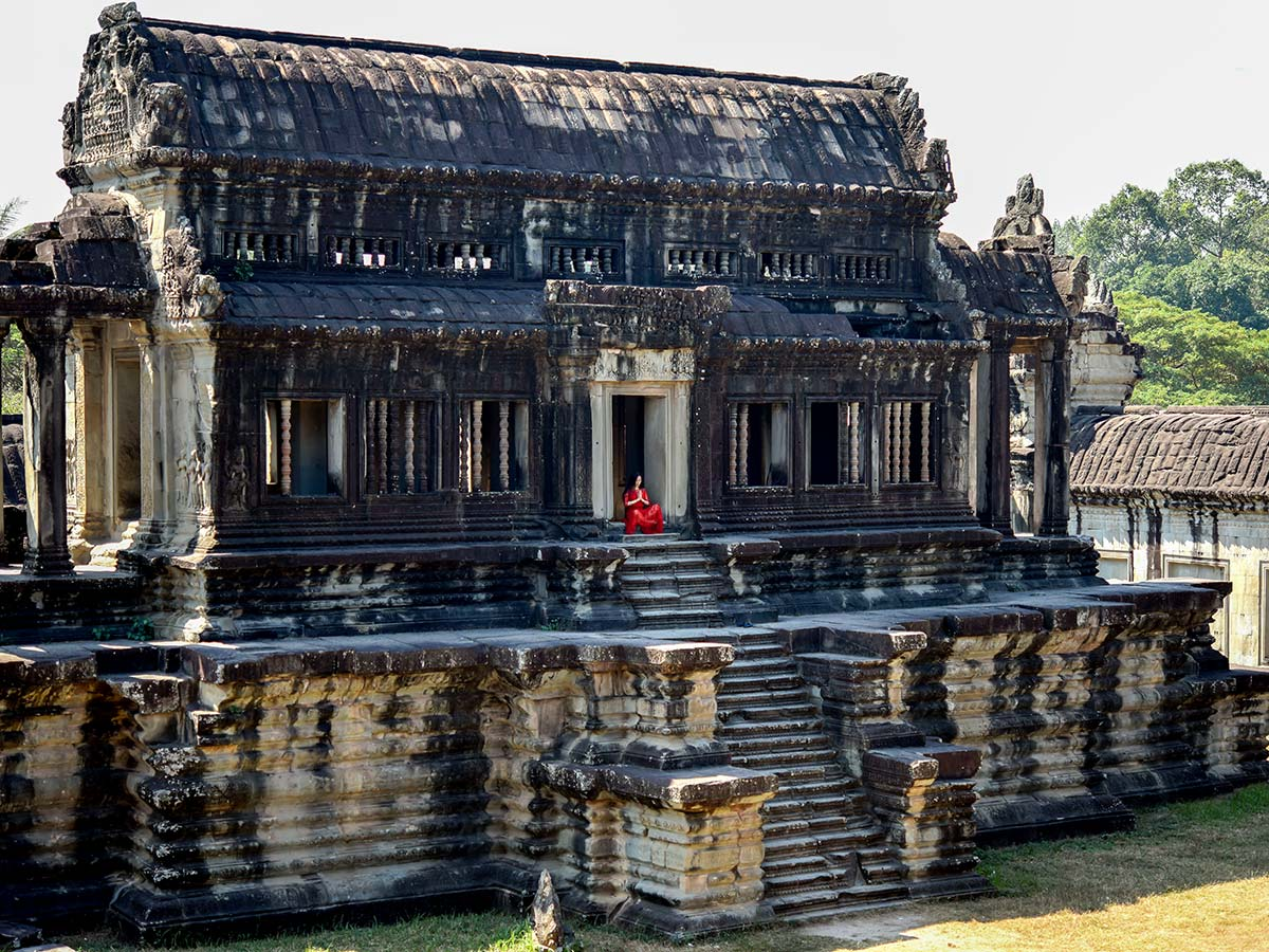 Backroads Biking in Cambodia Tour includes visiting Angkor Thom