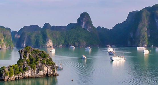Along the Coast of Vietnam