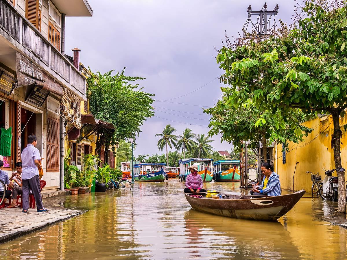 Coast of Vietnam Tour includes visiting Hoi An village