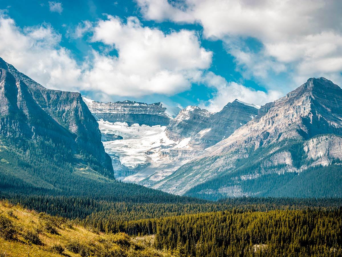 Beautiful scenery in the Canadian Rockies