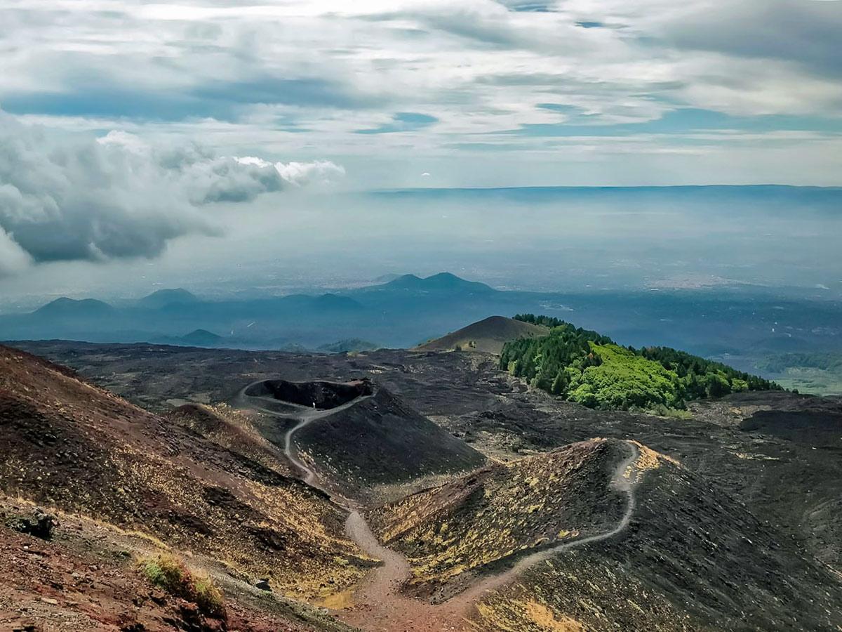 Volcanic views in Sicily