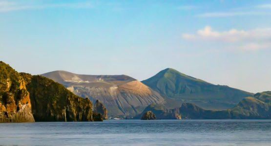 Sailing and hiking aeolian isles