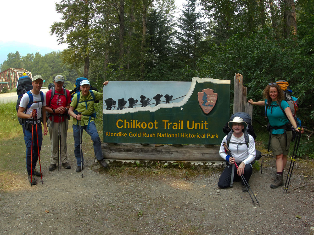 Trail Head of the Chilkoot Trail Canada