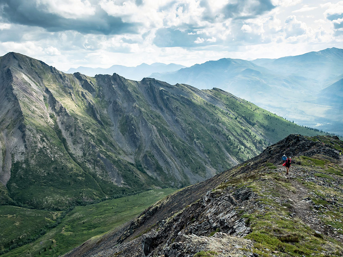 Gold Rush Tour includes hiking in the stunning Tombstone Territorial Park in Yukon