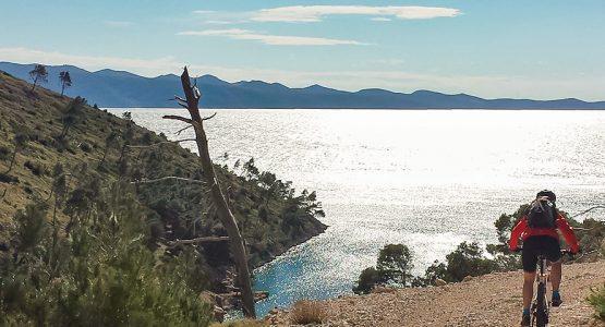 Mountain Biking in Croatia Islands