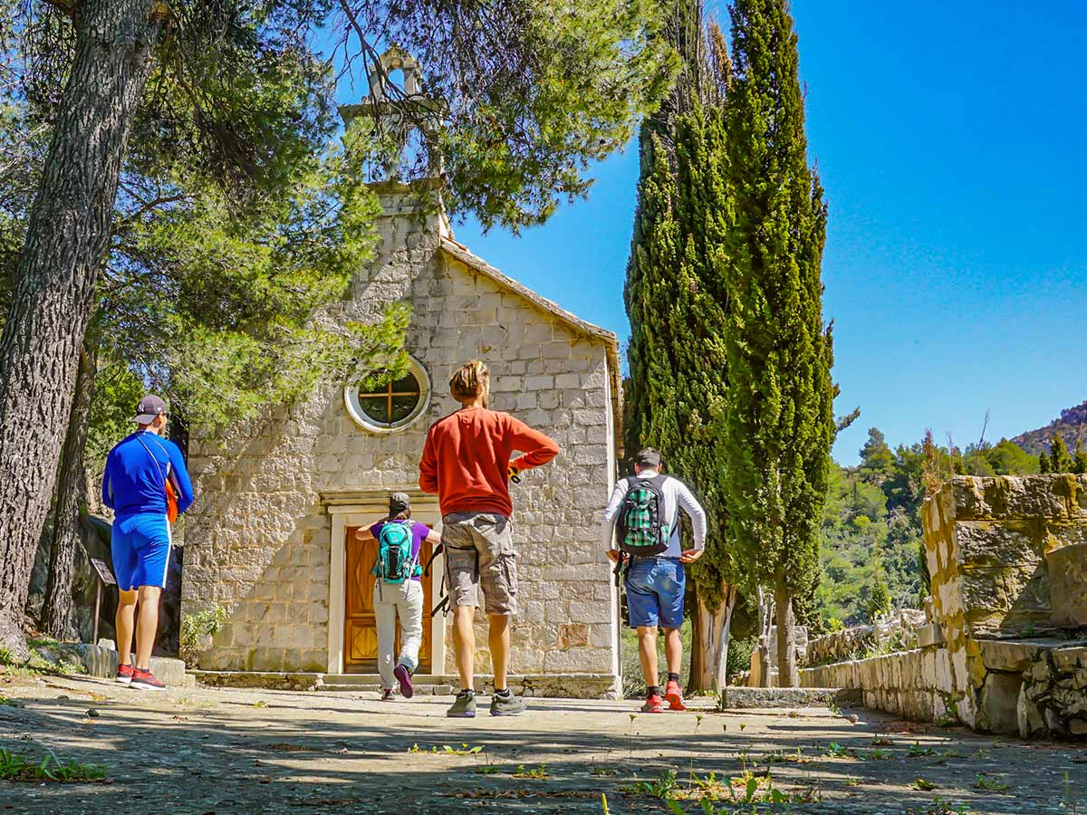 Self guided hiking tour from Split to Dubrovnik includes visiting numerous beautifiul locations