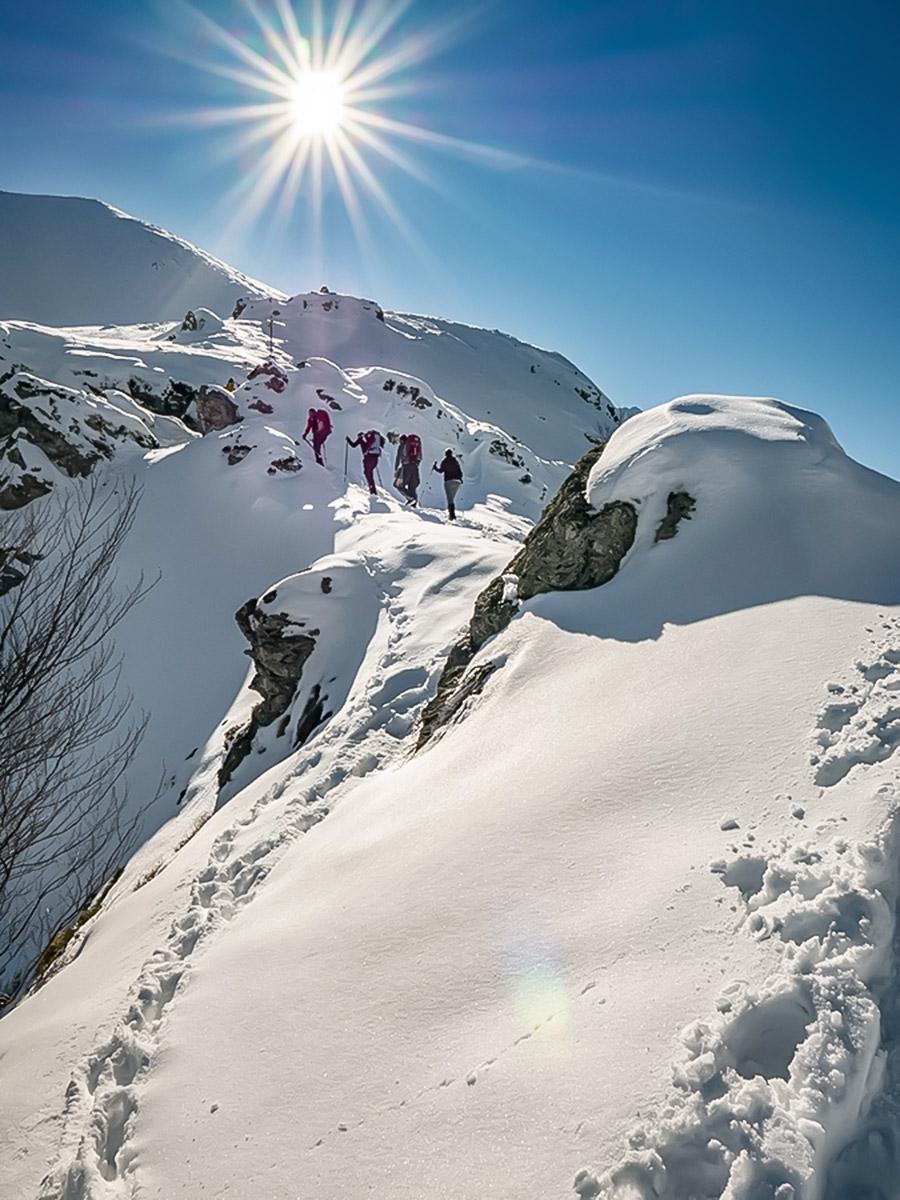 Winter in the Bulgarias mountains