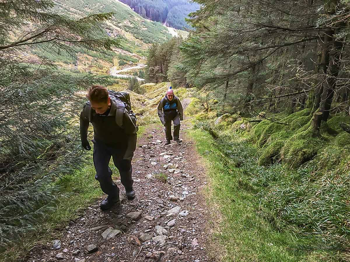 Ascent into Lochgoil on Loch Lomond and Cowal route
