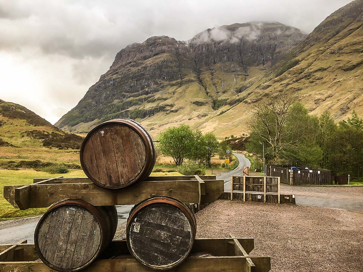 West Highland Way walk rewards with the beautiful Clachaig View