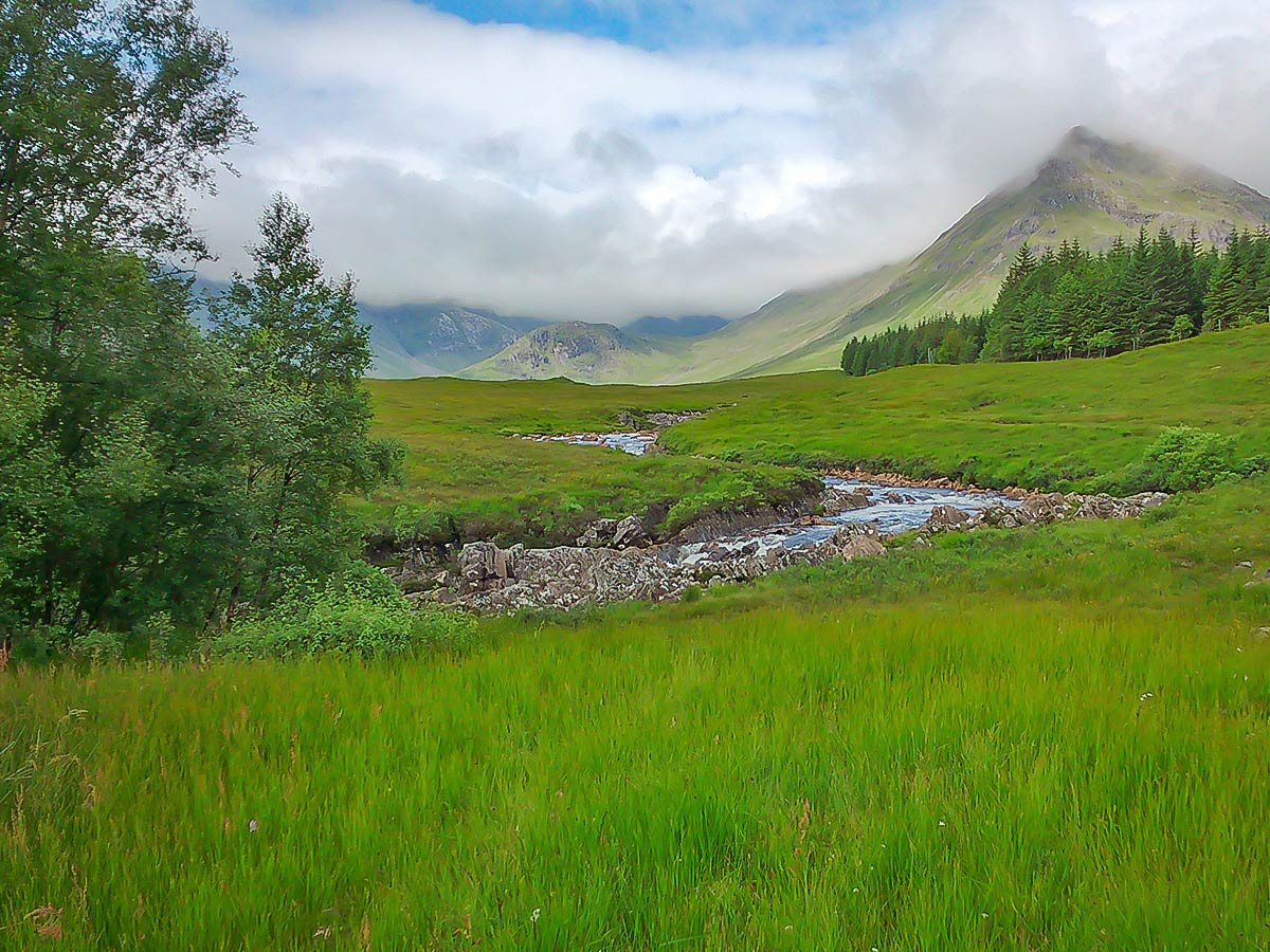 Beinn Dorain as seen on a self-guided West Highland Way walk in Scotland