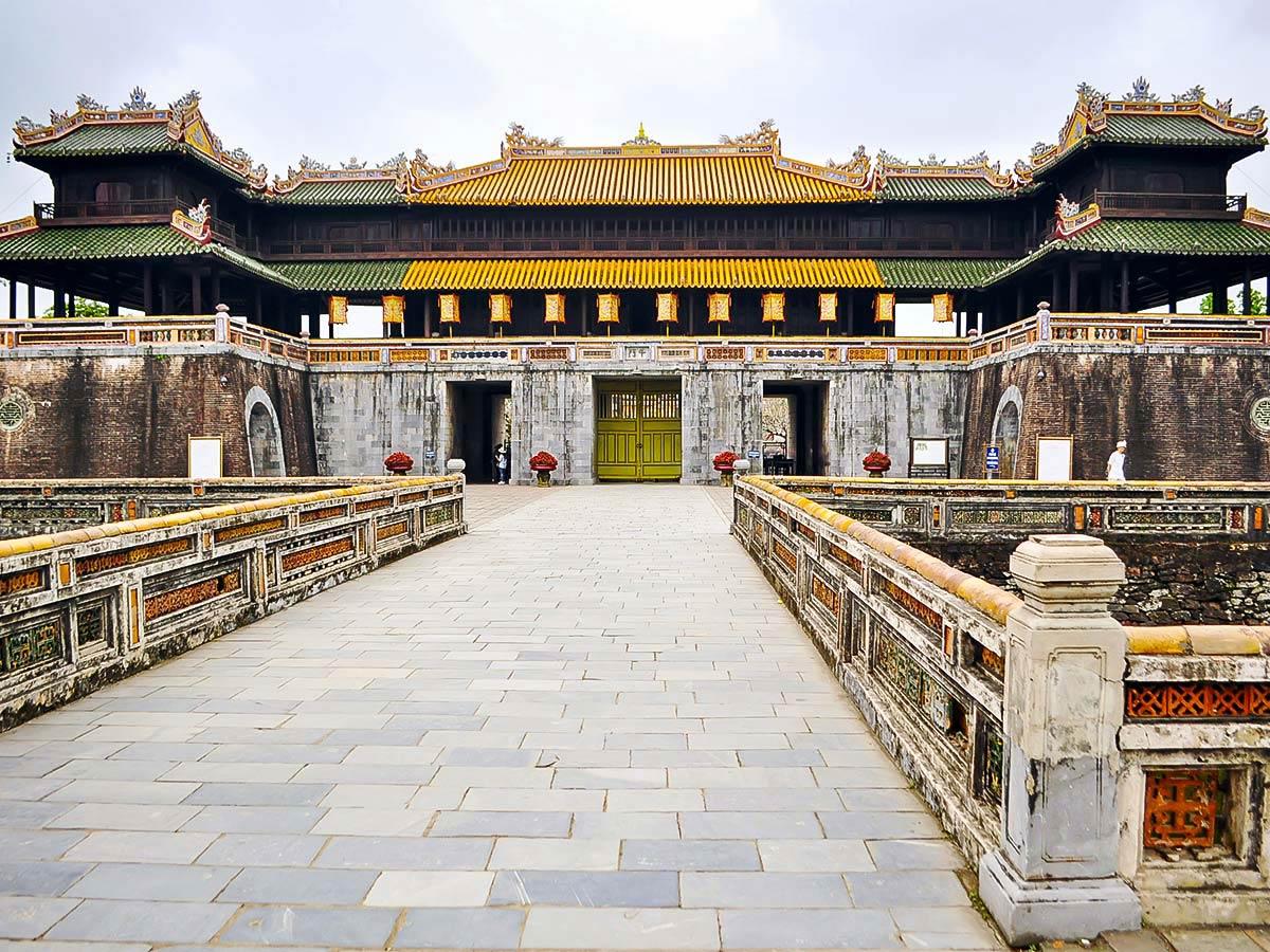 Vietnam Active Adventure Tour includes visiting many amous architecture sites in Vietnam