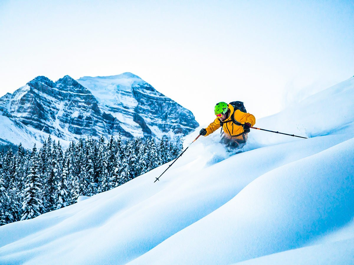 Downhill skiing in British Columbia is an awesome adventure with a guided tour