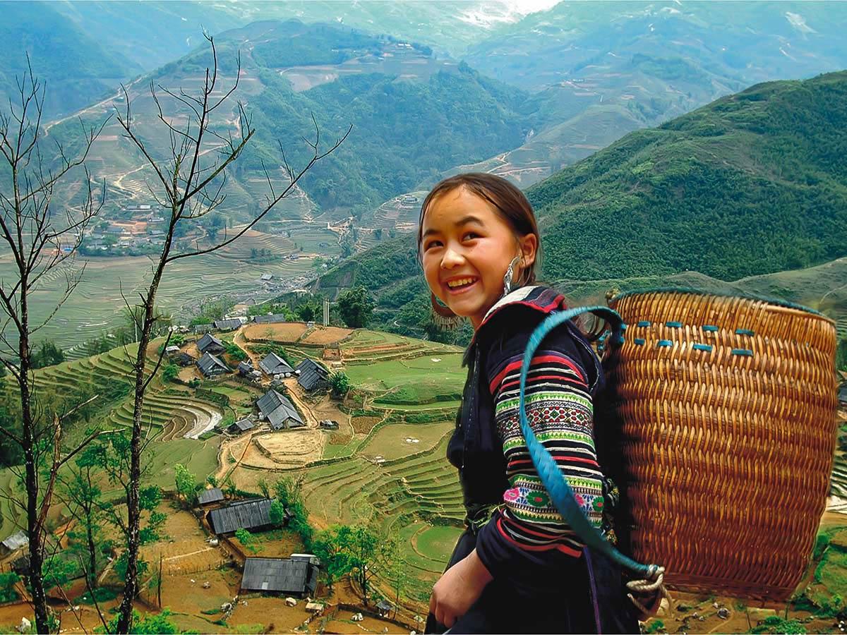 Ethnic Vietnamese girl met on Vietnam Active Adventure Tour
