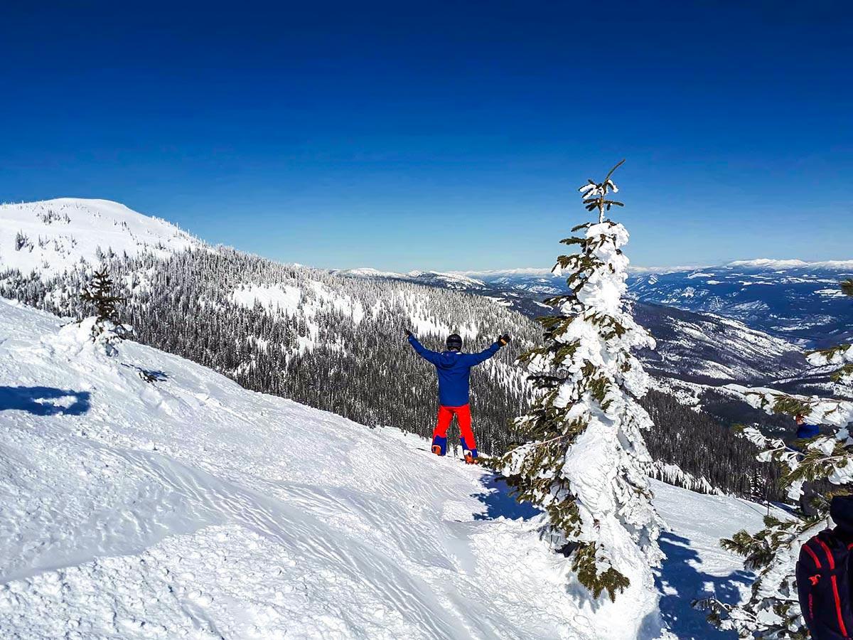 Skiing in British Columbias mountain resorts is a very rewarding experience