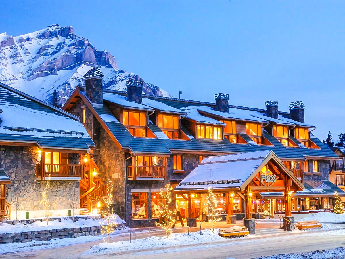 Fox Hotel and Suites in Banff will be your home for first 3 days of the ski trip
