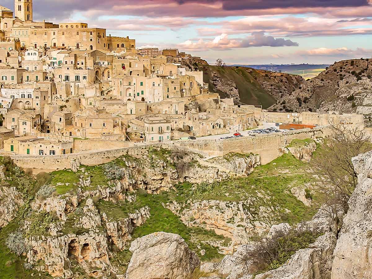 Stunning architecture in Matera