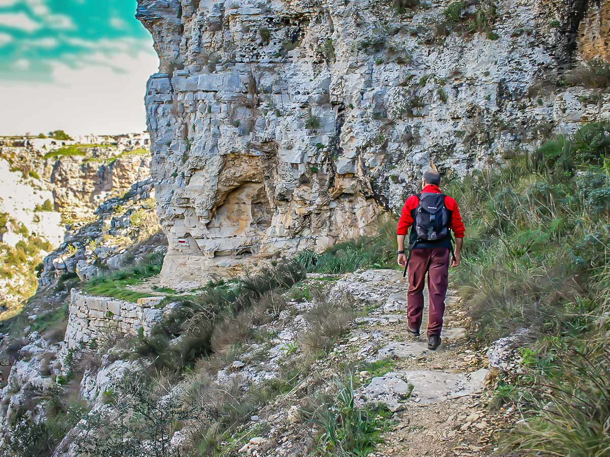 Puglia and Matera walking tour includes hiking on beautiful routes