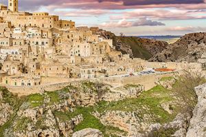 Italy Puglia Matera
