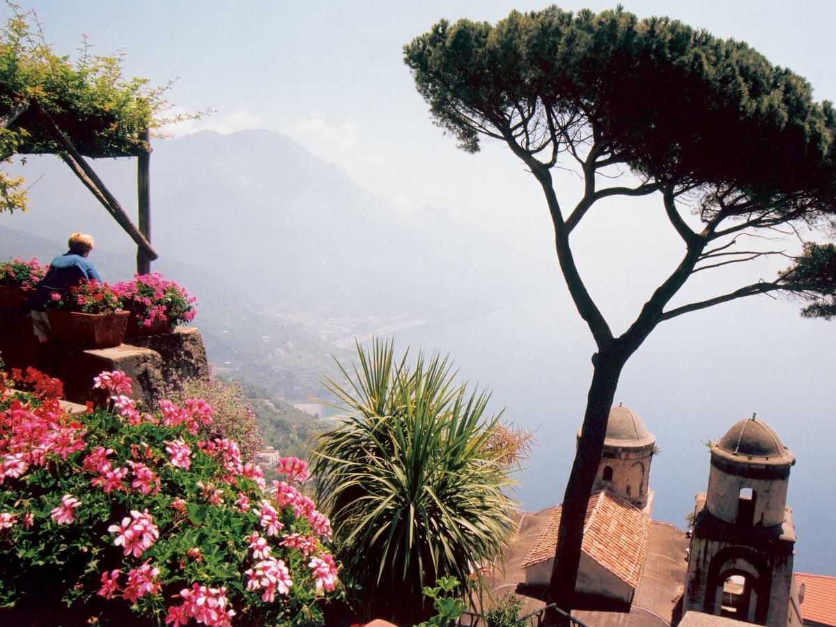 Stunning coastal views on self guided Amalfi and Capri walking tour in Italy