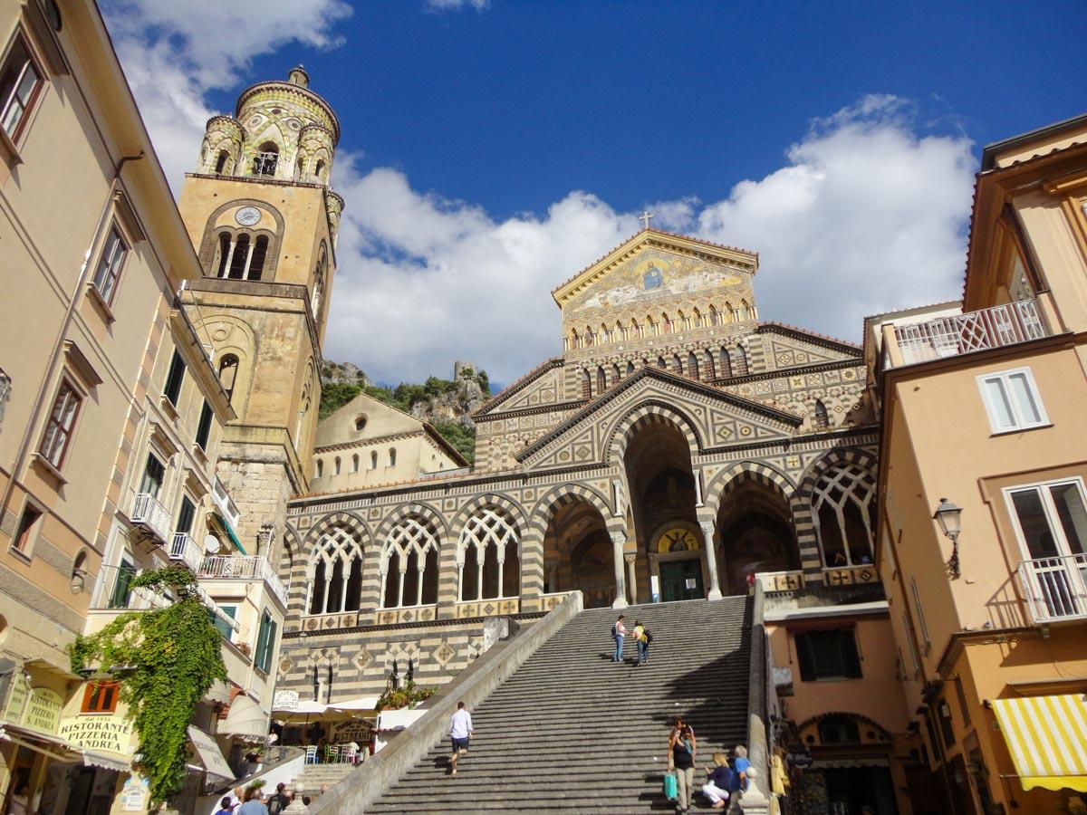Self guided Amalfi and Capri walking tour includes visiting Amalfi town