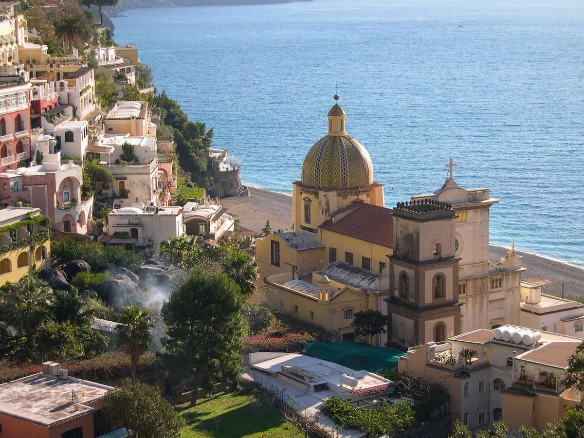 Views from Amalfi and Capri walking tour in Italy
