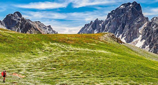Val Maira Stunning mountain views around Val Maira Recovered