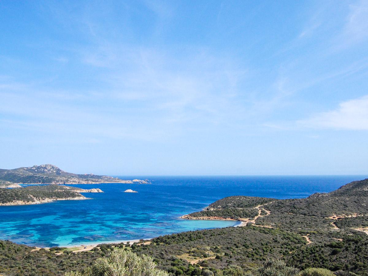 Beautiful coastal views on self guided Sardinia Walk