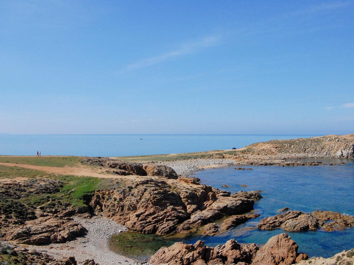 Beautiful Mediterranean Coast in Sardinia