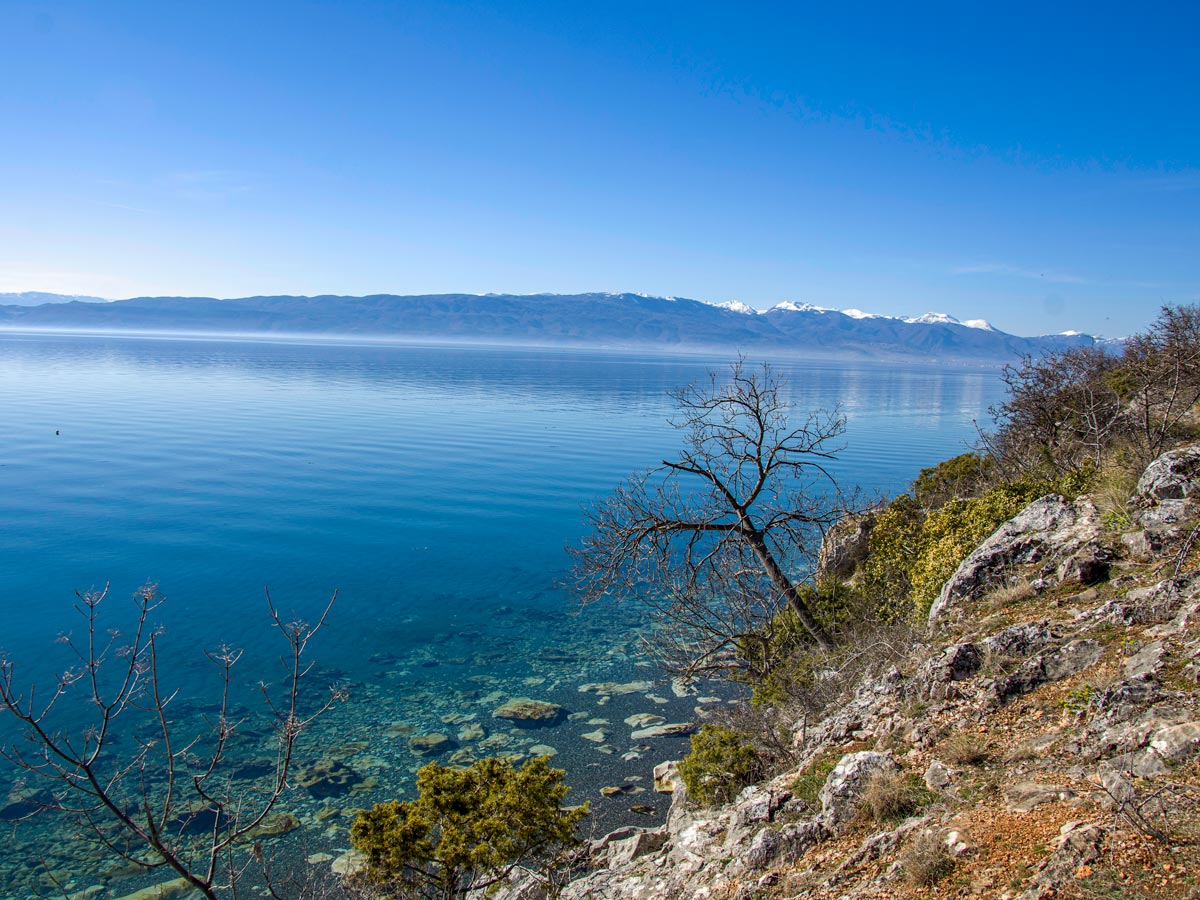 Cycling Two Lakes of Macedonia includes visiting the Ohrid Lake
