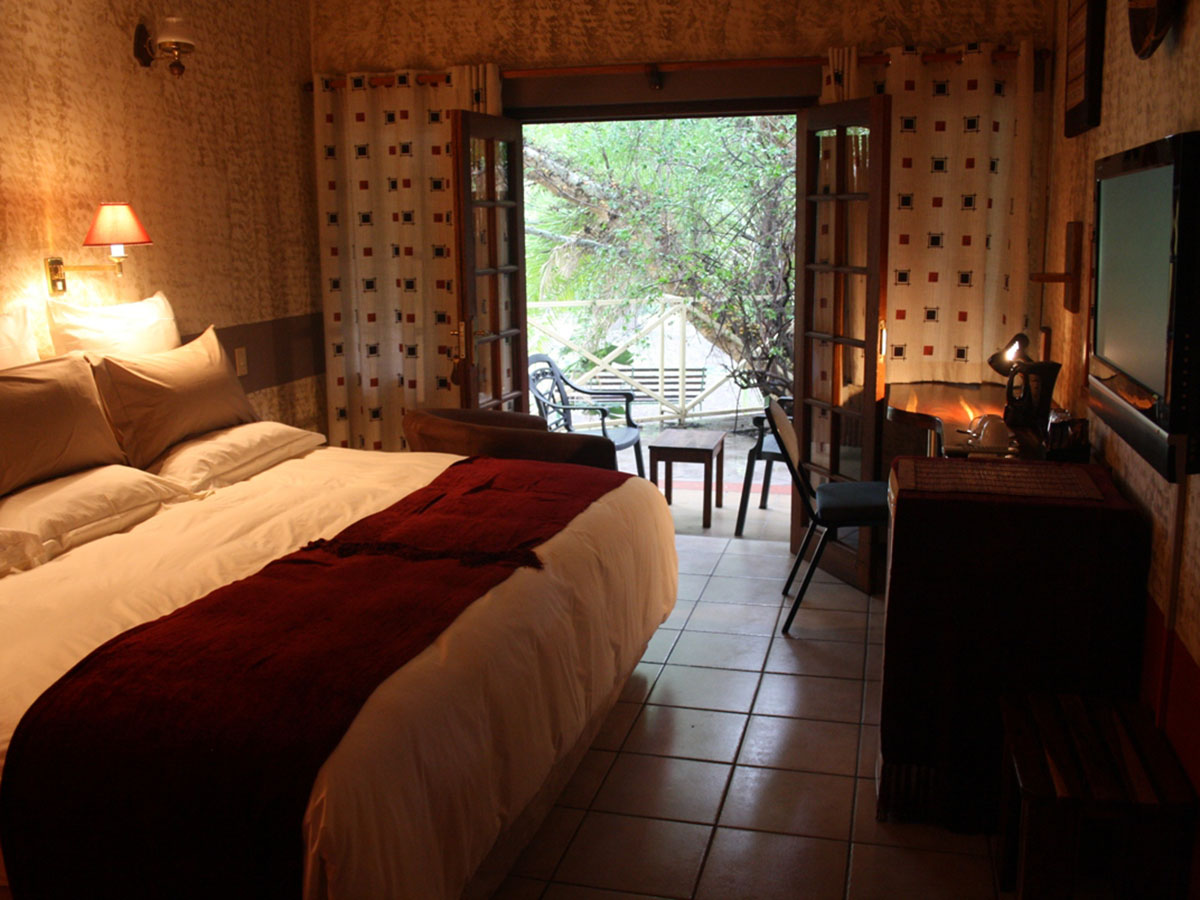 Room in a hotel in Zimbabwe