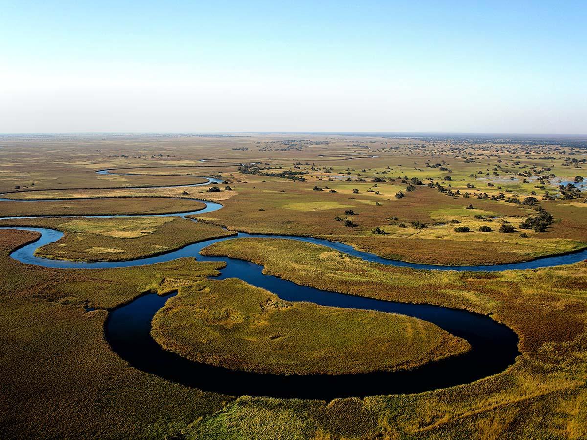 Beautiful river, seen on Botswana, Zimbabwe and Namibia Adventure Tour