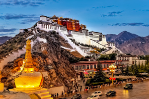 MTB tour from Lhasa to Kathmandu