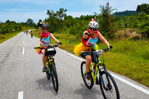 Borneo Coastal Biking Tour