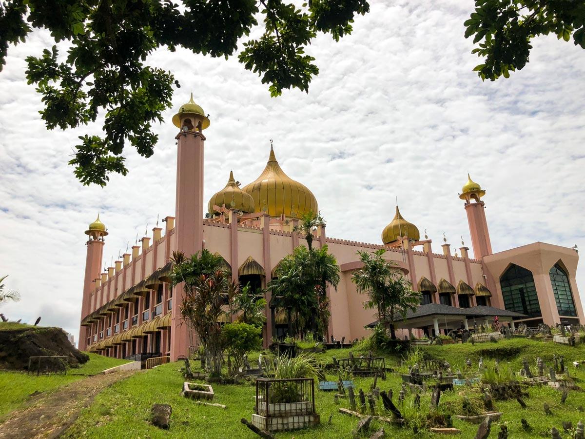 Beautiful arcitecture along Malasia Headhunters Heartland bike tour