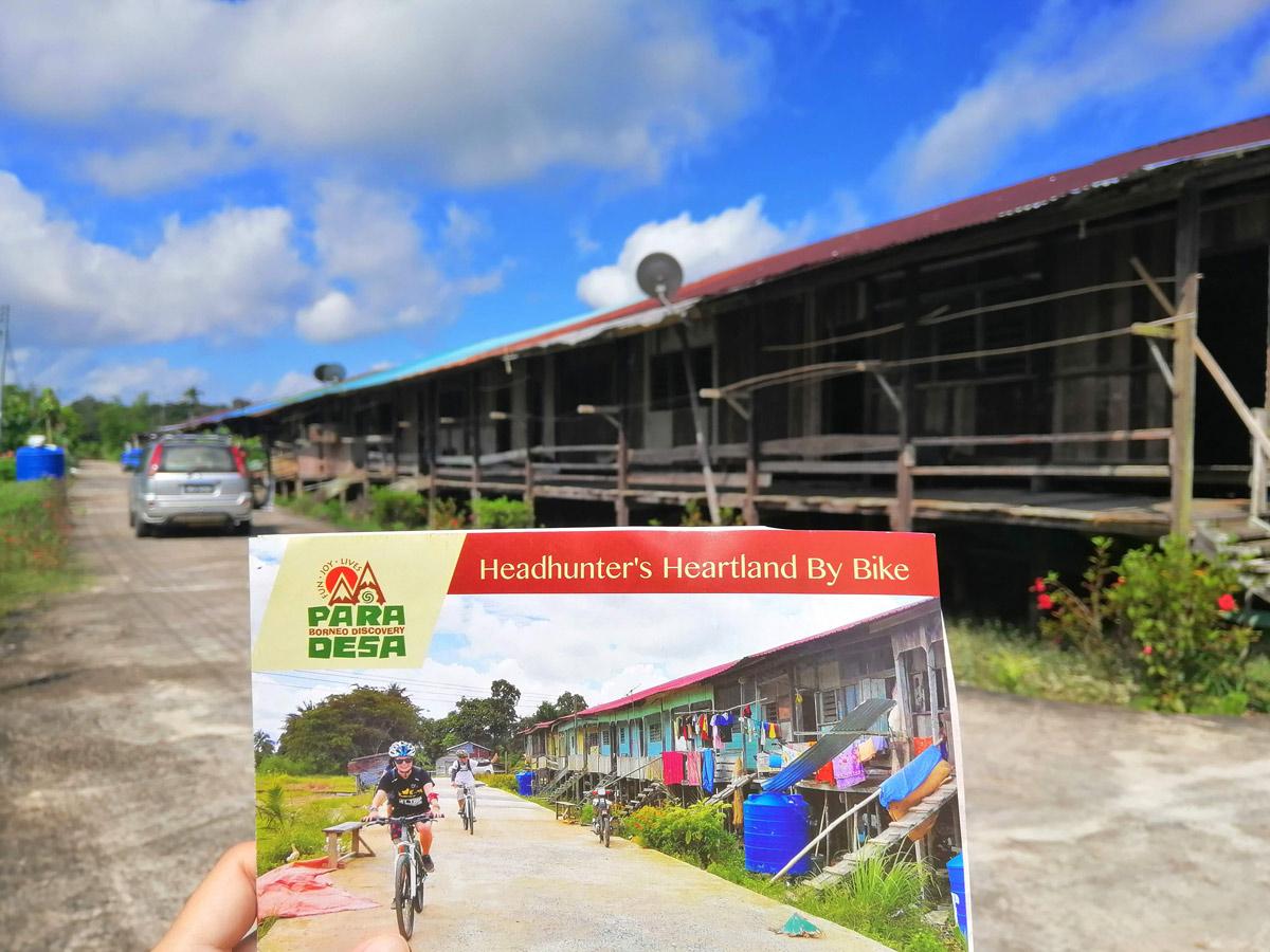 Malasia Headhunters Heartland bike tour
